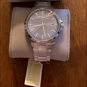 Micheal Kors stainless-steel Penn watch